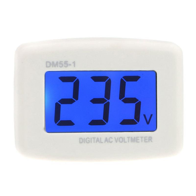 DM 55 - 1 AC 80 - 300 V LCD digital voltmeter US plug - in electric pen met X7H3