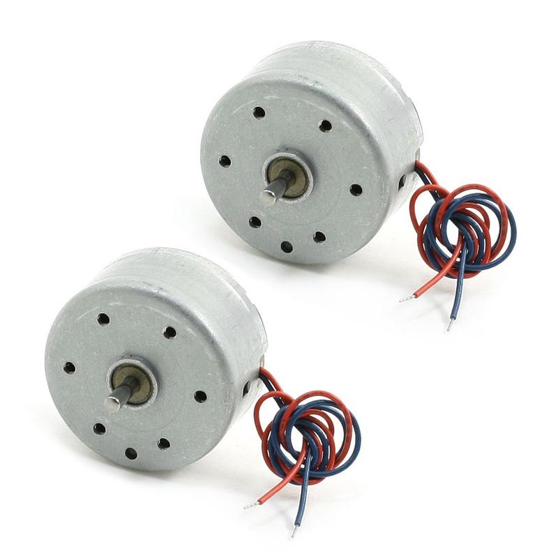 906ec4eda1f 2pzs RC300 6000RPM DC 1.5-9V Motor mini para Reproductor de DVD CD ...
