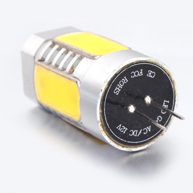 2X-G4-5W-LED-Ampoule-de-Lampe-de-Mais-en-Aluminium-Cobs-360-Blanc-Chaud-12-H8R9 miniature 2