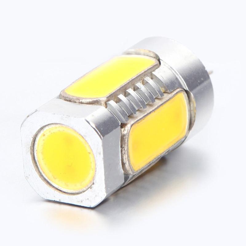 2X-G4-5W-LED-Ampoule-de-Lampe-de-Mais-en-Aluminium-Cobs-360-Blanc-Chaud-12-H8R9 miniature 3