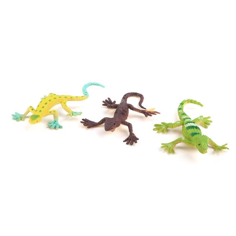 Gecko-small-plastic-lizard-Simulation-reality-decoration-Children-039-s-toys-12-F9R4 thumbnail 2