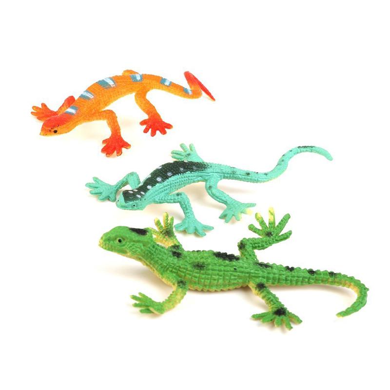 Gecko-small-plastic-lizard-Simulation-reality-decoration-Children-039-s-toys-12-F9R4 thumbnail 5