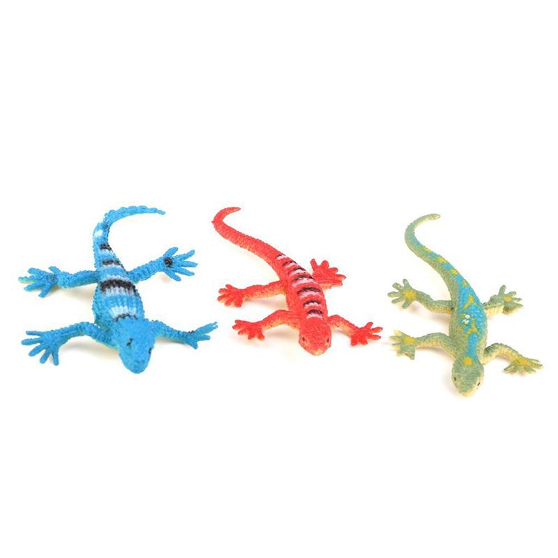 Gecko-small-plastic-lizard-Simulation-reality-decoration-Children-039-s-toys-12-F9R4 thumbnail 6