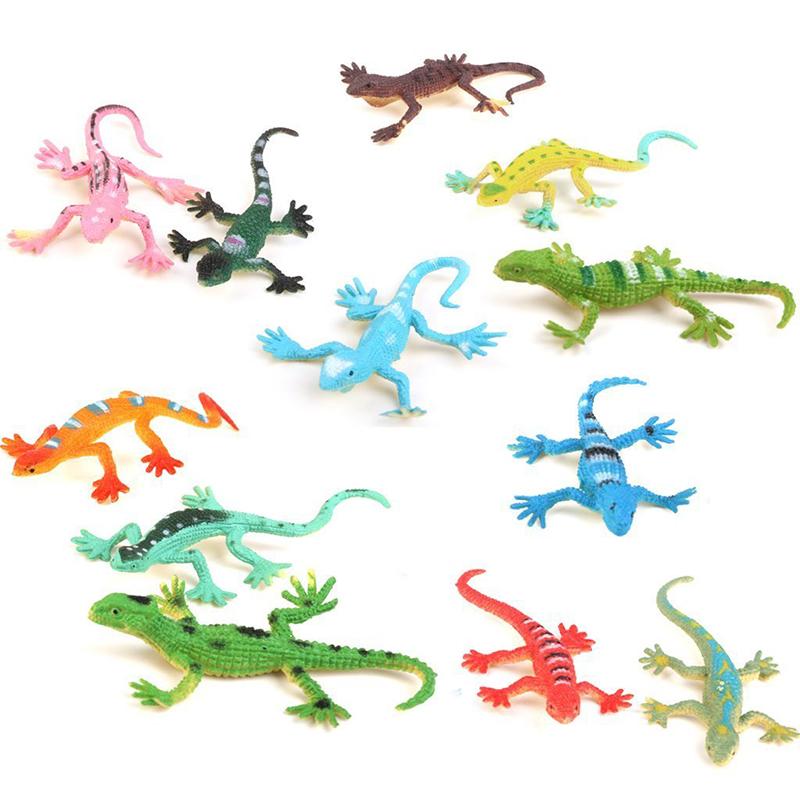 Gecko-small-plastic-lizard-Simulation-reality-decoration-Children-039-s-toys-12-F9R4 thumbnail 8