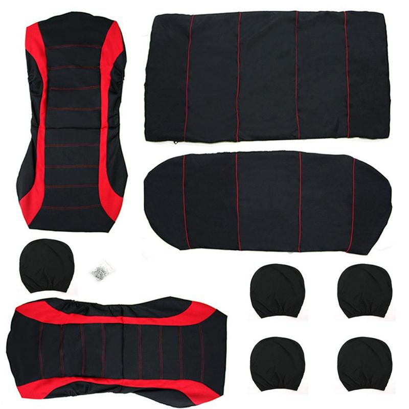 TIROL-Cubierta-de-asiento-de-coche-Accesorios-interiores-de-coche-Tapa-de-c-O9A2 miniatura 7