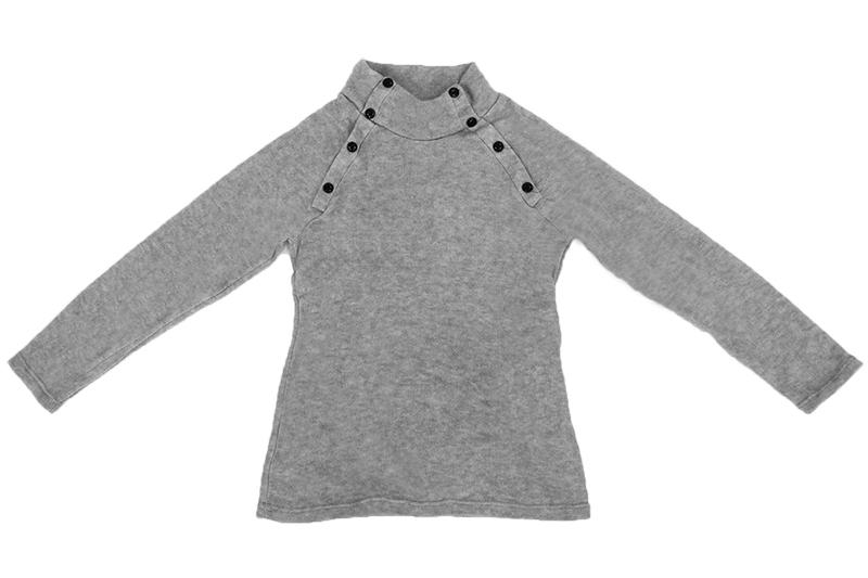 Nouveau-Mode-Hommes-Col-roule-Mince-Fit-Manches-longues-Pull-Cardigan-Chandai-Q2 miniature 4