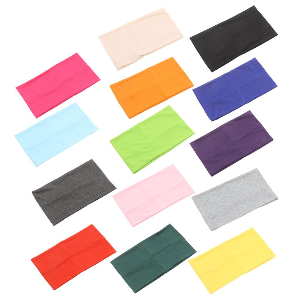 vasta gamma nuova collezione qualità stabile 2X(Donna Ampio Tratto Hairband Cerchietti Yoga Fascia Fasce ...