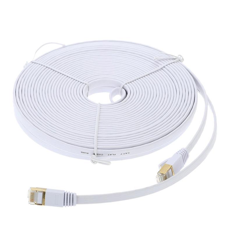 1X-15-m-Cable-du-reseau-a-haute-vitesse-categorie-Cat7-SSTP-RJ45-Cable-Q5A7