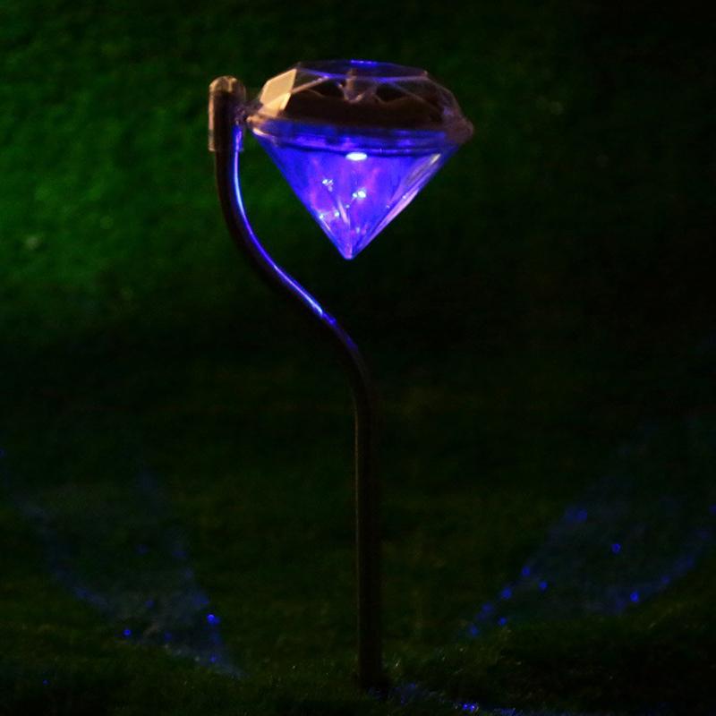Juego-de-4-piezas-LED-Luz-de-cesped-de-tipo-diamante-de-cambio-de-color-RGB-Luz