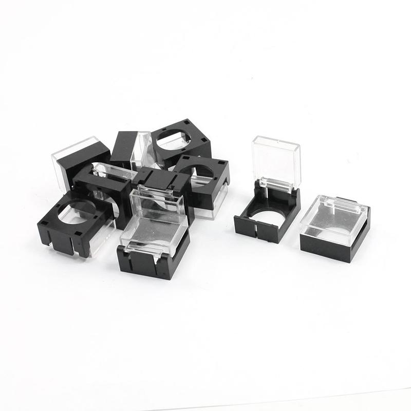 2X(10pzs Protector de  guardia cubierta impermeable para 16mm diametro inteW2G4)