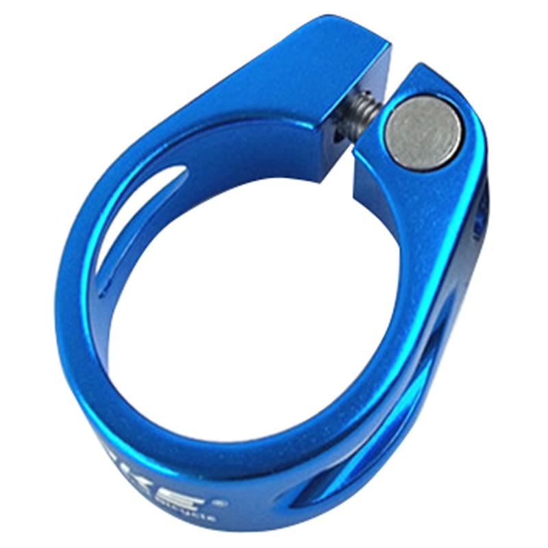 blue 31.8 m M6 WAKE aluminum alloy quick release type seat post clamp tube clip