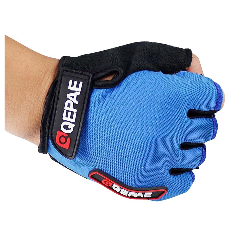 Qepae-NOUVEAU-Gants-en-silicone-a-demi-doigt-de-cyclisme-de-velo-K3I3 miniature 11