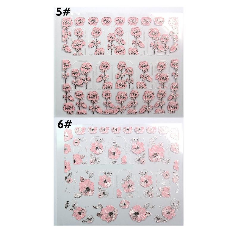 anmerkung das muster wird zufaellig gesendet paket 1 x nagel aufkleber hinweis wegen der lichtstrahlung und bildschirme koennte der farbeton in den - Kunstnagel Muster