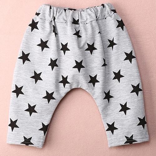 pantalones-cortos-casuales-de-patron-de-estrellas-de-boton-de-nino-agrisado-J4L3 miniatura 3