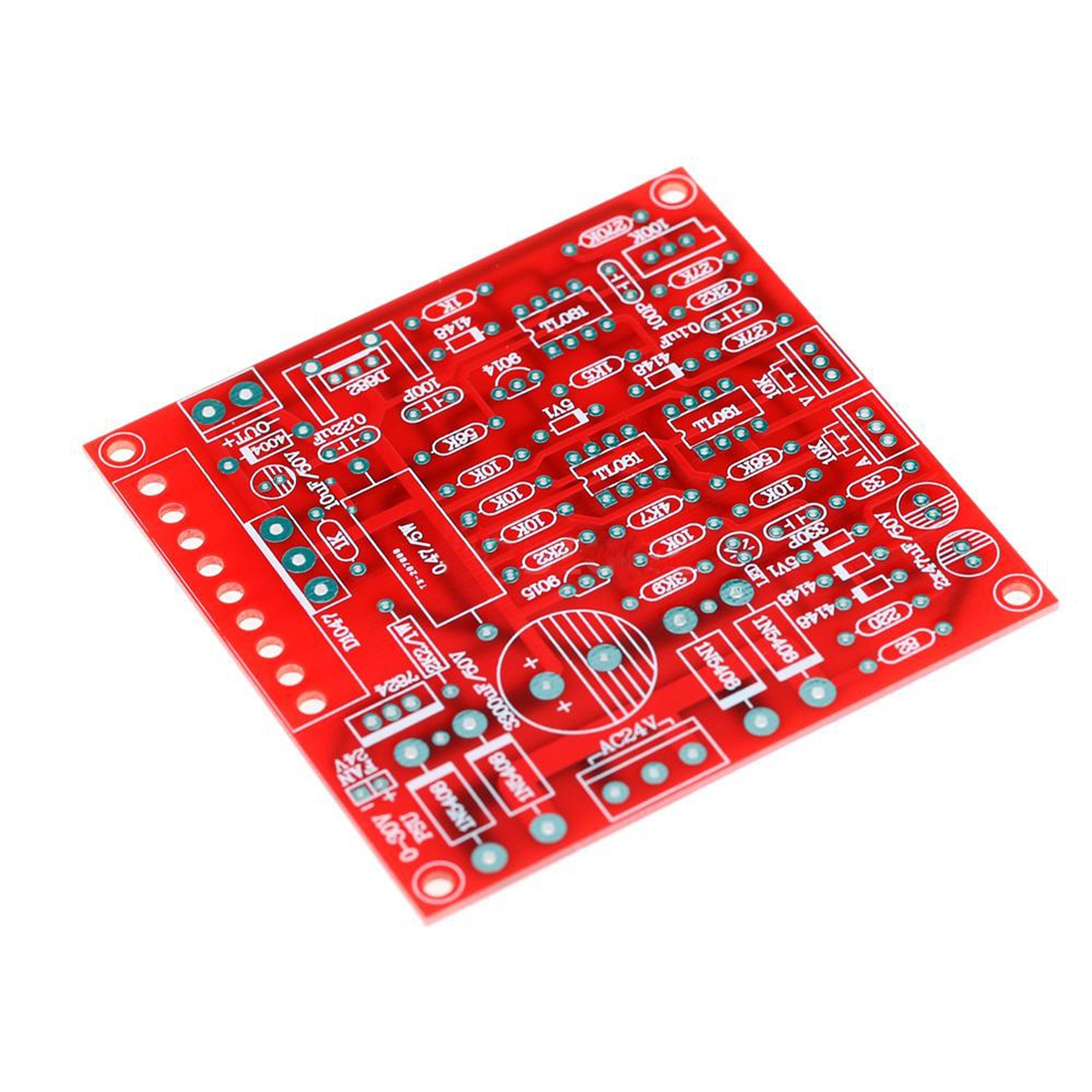Adjustable Dc Regulated Power Supply Diy Kit Short Circuit Adjustablecurrentlimitandoutputvoltage Powersupplycircuit High Quality Whose Output Voltage Is Continuously From 0 To 30v Including A Limit Current Which