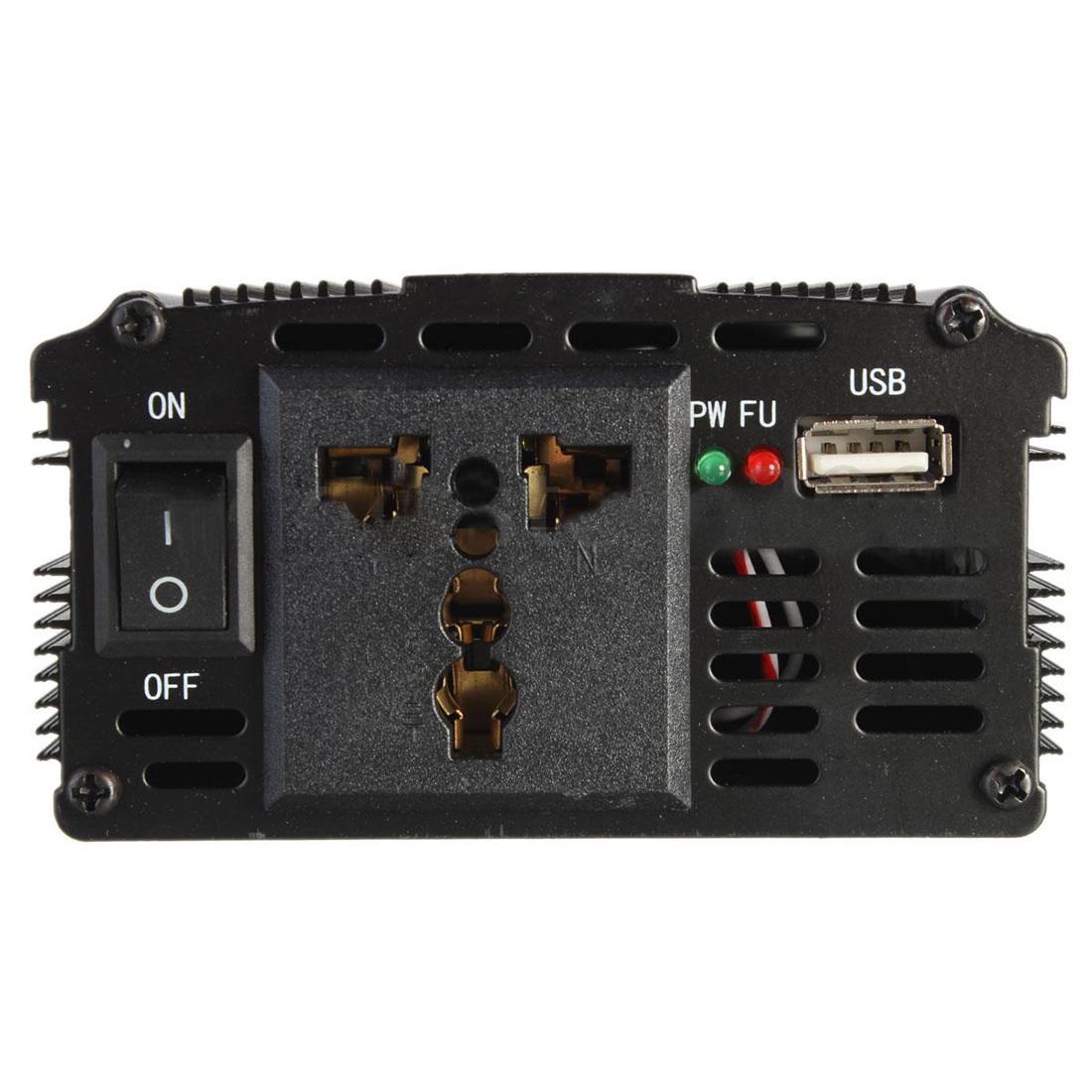 w453 xuyuan 2000w car vehicle usb dc 24v to ac 220v power inverter adapter conve ebay. Black Bedroom Furniture Sets. Home Design Ideas