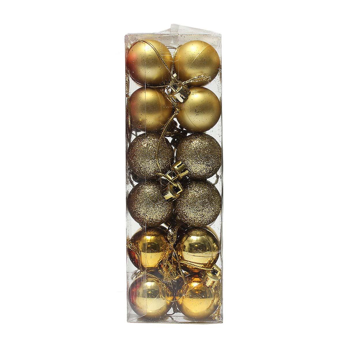 24 st ck weihnachtsbaum dekor kugel spielzeug h ngend weihnachtsdeko golden s2z6 ebay - Weihnachtsdeko hangend ...