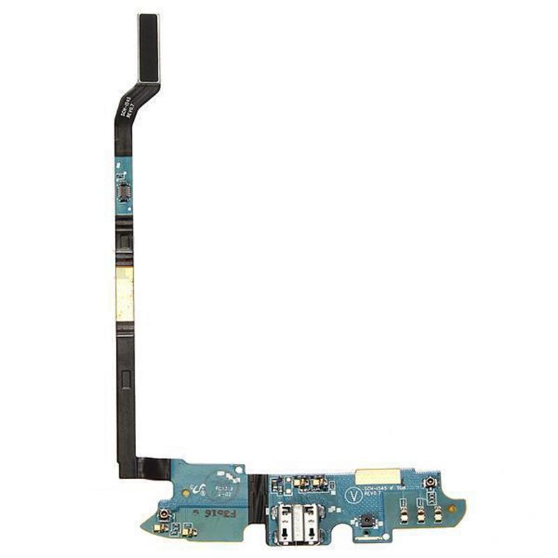 USB Charging Charge Plug Jack Port Flex PCB Mic for Verizon Galaxy S4 SCH-i J2C8