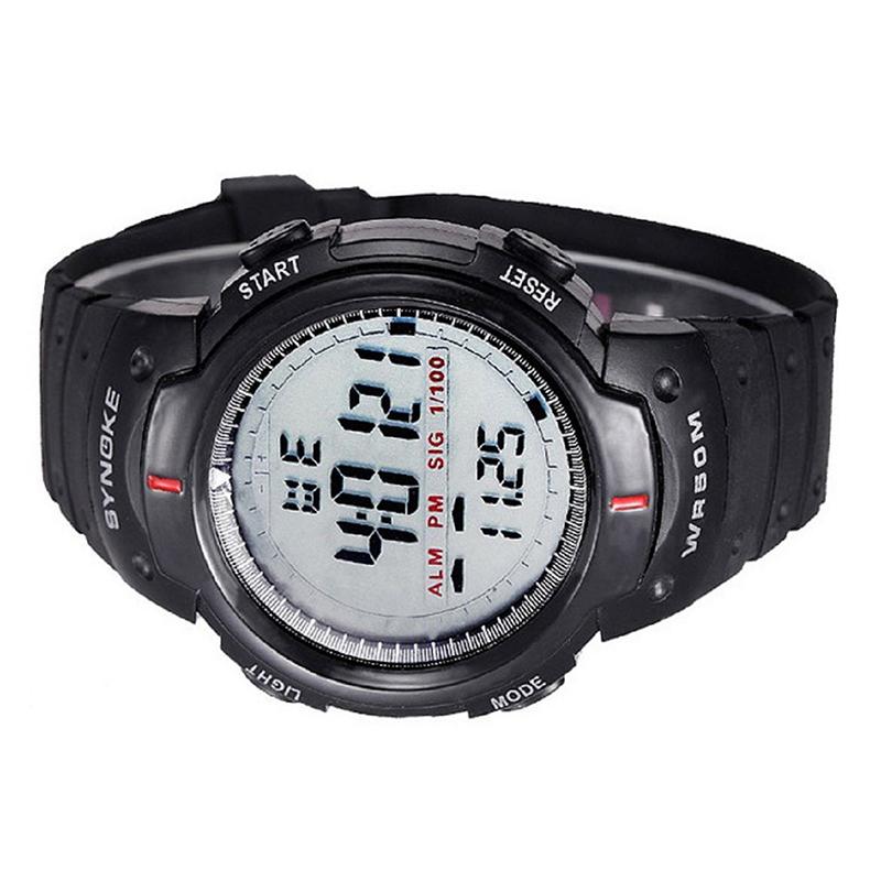 SYNOKE-Hombres-digital-Reloj-LED-deportes-cuarzo-alarma-fecha-reloj-de-pulser-ST