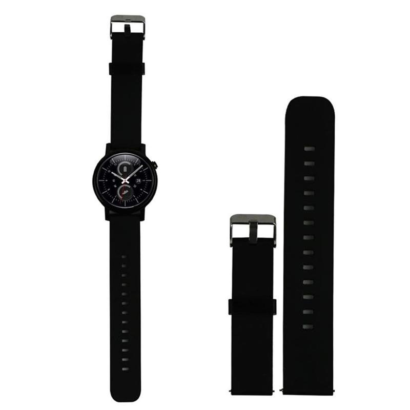 1X-Fitness-Sport-Silikon-Uhrenarmband-mit-einer-Schnalle-aus-Stahl-S2-SamsuI5S6 Indexbild 3