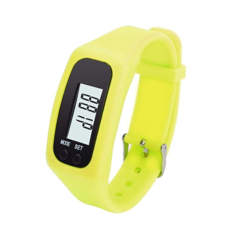 Montre-de-podometre-LED-intelligente-sportif-Montre-de-podometre-a-bracelet-S2O9 miniature 3