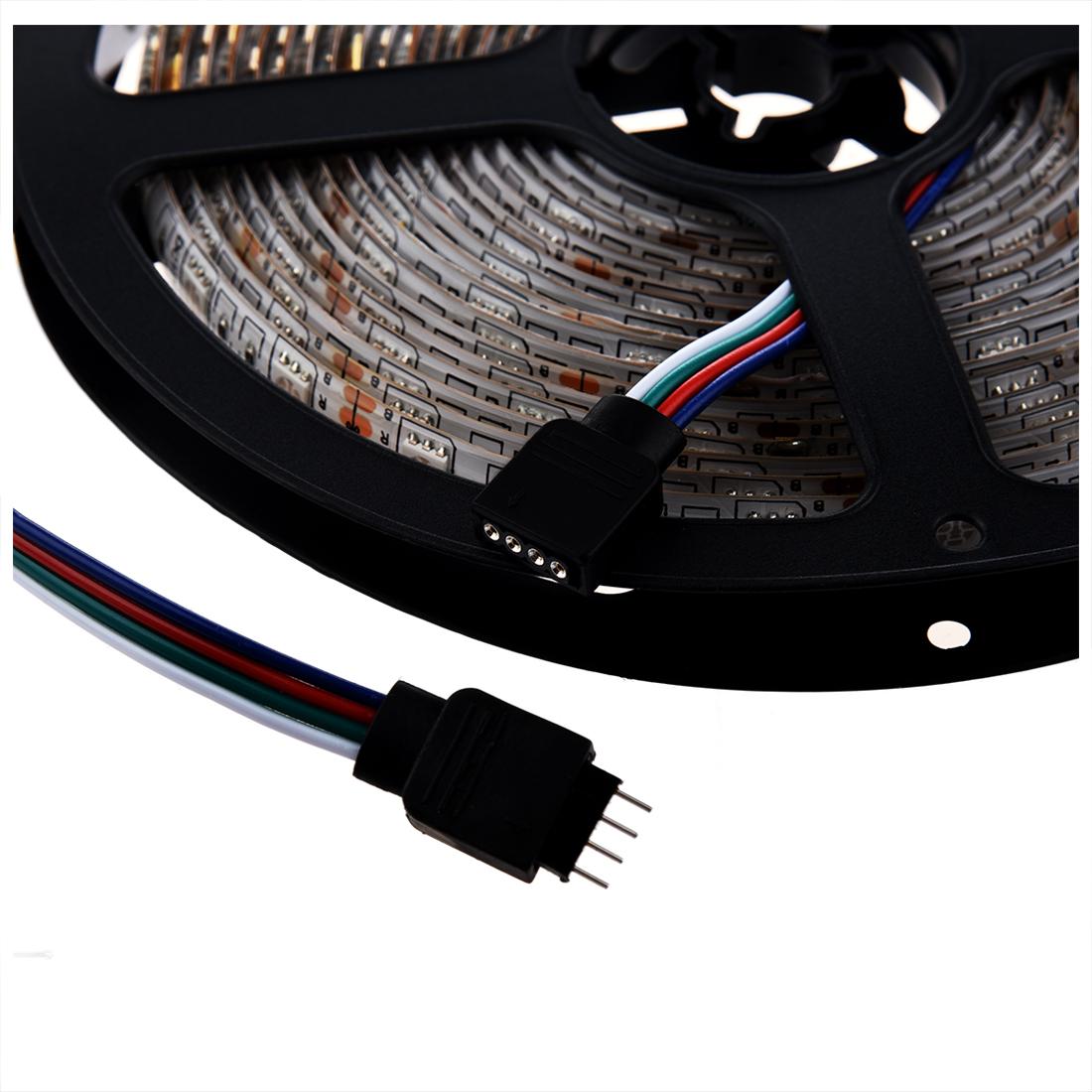 rgb 5m 5050 led strip light flexible 300 leds smd led tape. Black Bedroom Furniture Sets. Home Design Ideas