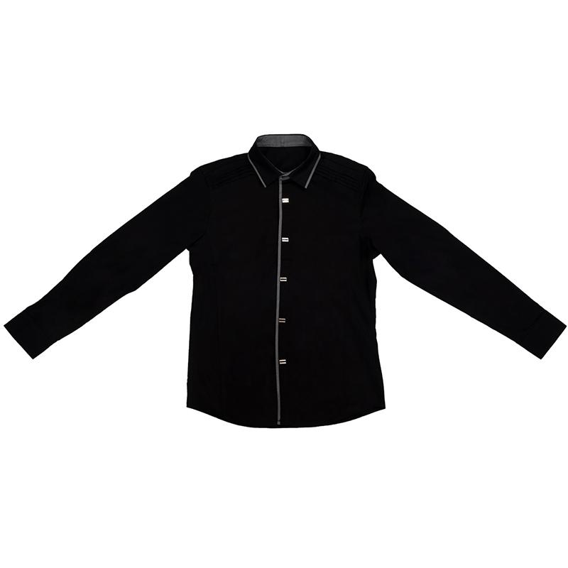 Nueva-Camisa-de-algodon-de-otono-de-primavera-para-Los-hombres-Camisa-casua-L4O9 miniatura 4