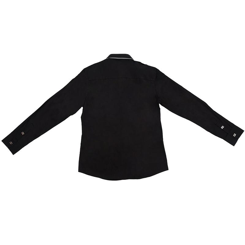 Nueva-Camisa-de-algodon-de-otono-de-primavera-para-Los-hombres-Camisa-casua-L4O9 miniatura 5