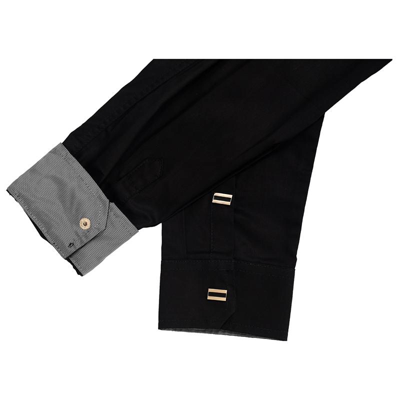 Nueva-Camisa-de-algodon-de-otono-de-primavera-para-Los-hombres-Camisa-casua-L4O9 miniatura 6