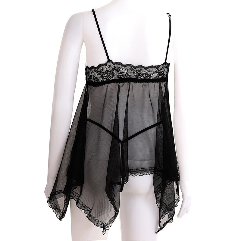 Lenceria-sexy-de-Lace-Transparent-Picardias-Sexy-ropa-interior-Tanga-Negro-X2K4