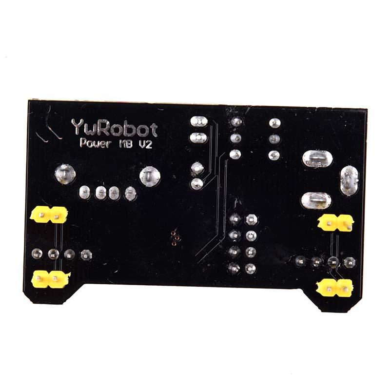 Breadboard-3-3V-5V-Power-Supply-Module-3-3V-5V-For-Arduino-Board-B5W7-B5W7 thumbnail 2