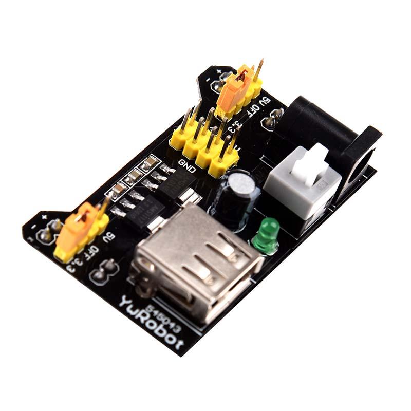 Breadboard-3-3V-5V-Power-Supply-Module-3-3V-5V-For-Arduino-Board-B5W7-B5W7 thumbnail 3