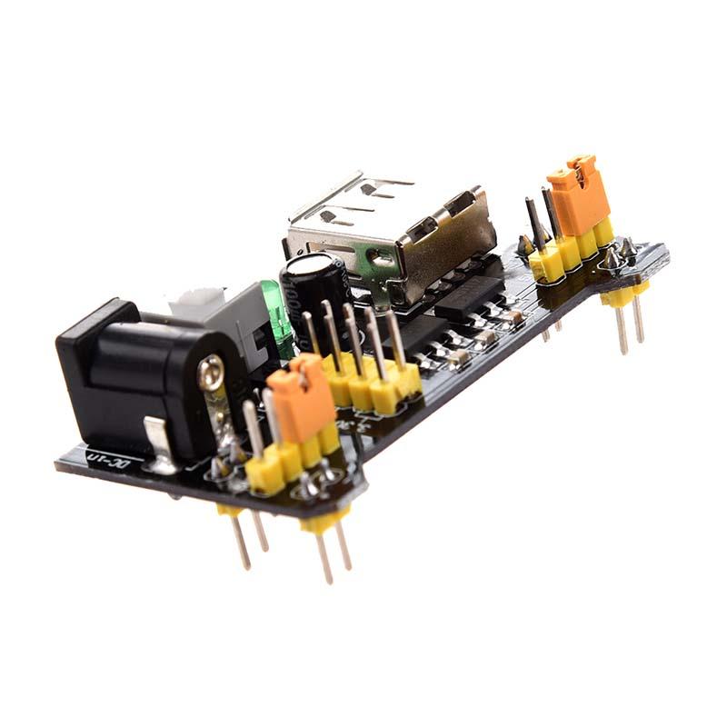 Breadboard-3-3V-5V-Power-Supply-Module-3-3V-5V-For-Arduino-Board-B5W7-B5W7 thumbnail 5