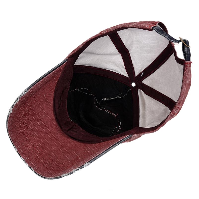 1X-Gorra-de-beisbol-de-Hip-Hop-de-reentrada-de-llano-Sombrero-ajustable-de-9M8 miniatura 7