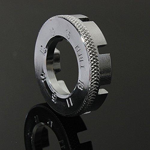 Bike Spokes wrench Mini Tools Adjustment 8-Way Blasting Set for MTB Bike X4U8