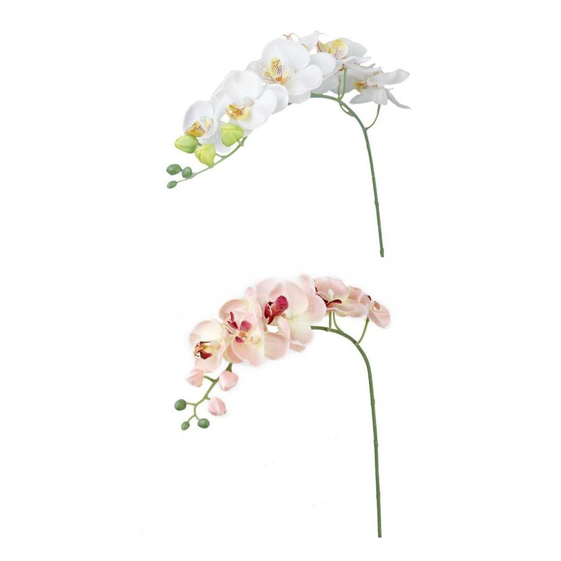 2 zweige schmetterling orchidee kuenstliche blumen fuer hauptdekoration hoc k5i5 ebay. Black Bedroom Furniture Sets. Home Design Ideas