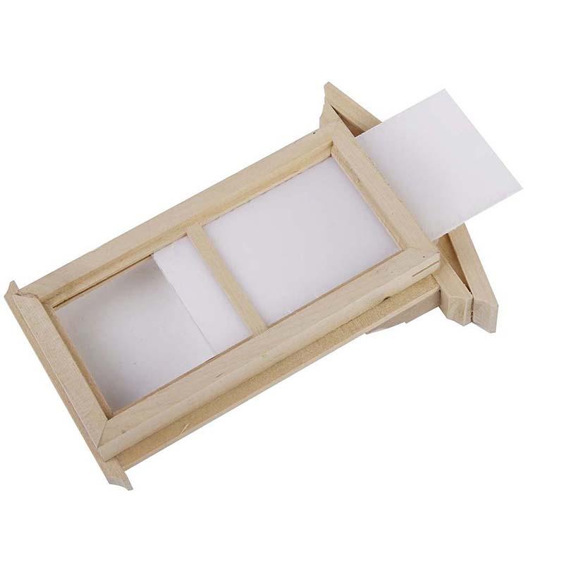 20X(Fenetre Miniature en Bois Accessoire Accessoire Accessoire DIY pour 1 12 Maison de Poupee A1W9) 438ff8