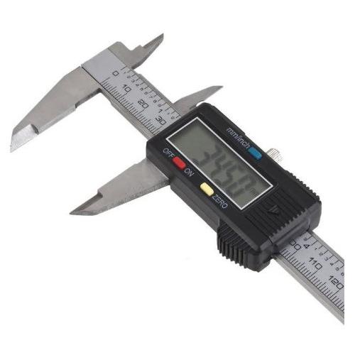 Plata-6-034-150mm-electronica-digital-pie-de-Rey-Calibre-grande-herramienta-de-V4R8 miniatura 2