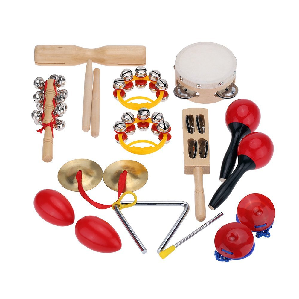 Musical Toys For Toddlers : Percussion set kids children toddlers music instruments