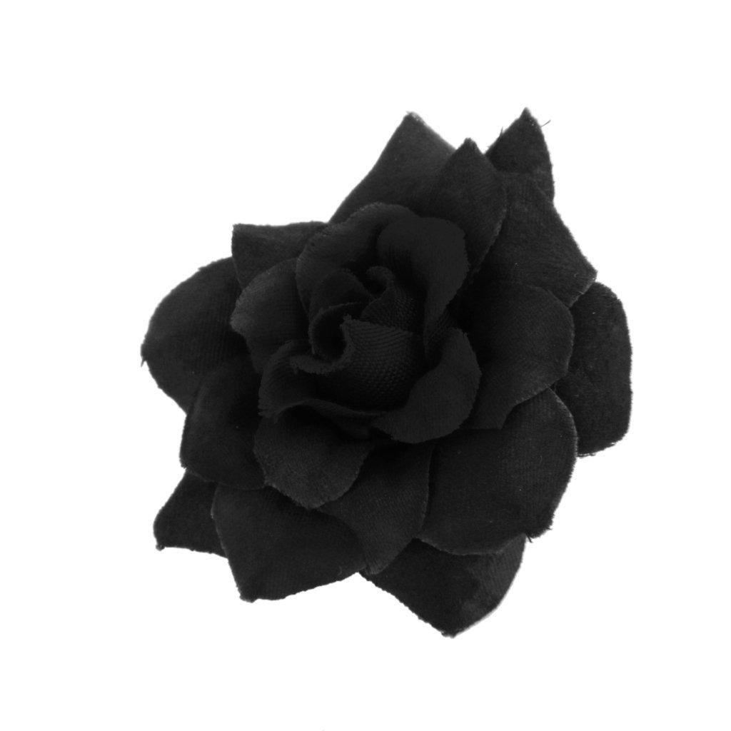 50 stk seide rosen kuenstliche braut clips hochzeit for Dekoration schwarz