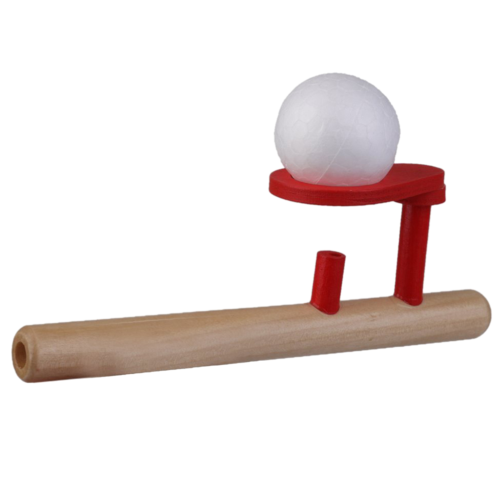 Toys With Balls And Tubes : Classic wooden games floating ball blow tube balls blows