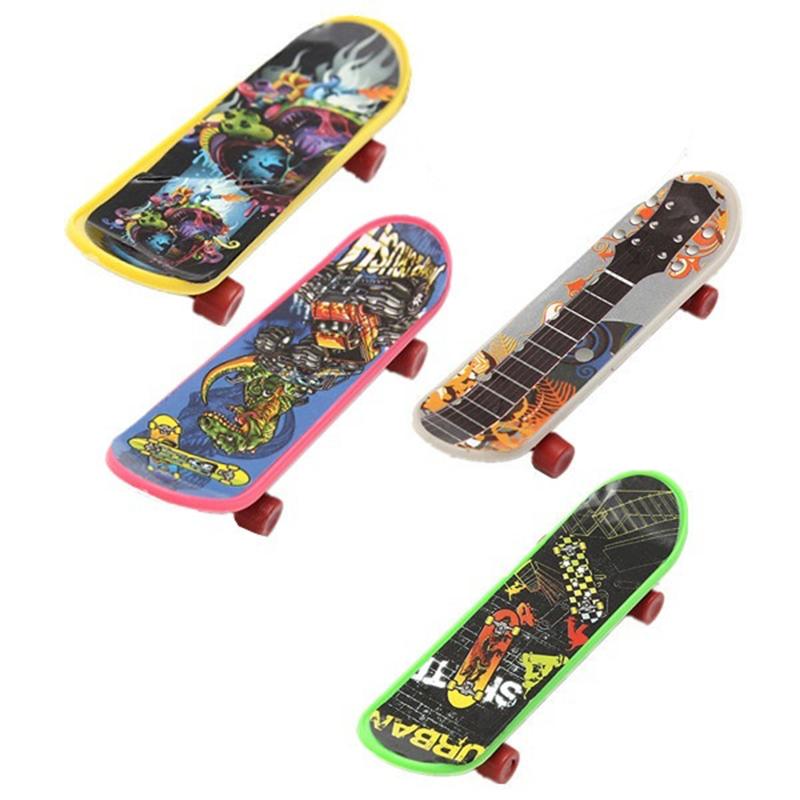 4 pack finger board tech deck truck skateboard toy gift kids children 95mm hy ebay - Tech deck finger skateboards ...