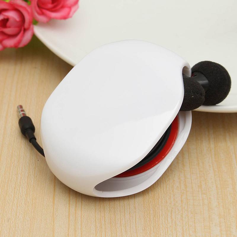 Automatique-Enrouleur-Ecouteur-de-Cable-Earphone-Corde-Ecouteur-Casque-Rangement miniature 3