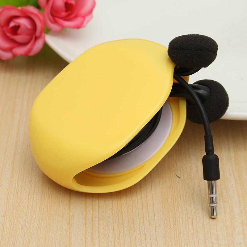 Automatique-Enrouleur-Ecouteur-de-Cable-Earphone-Corde-Ecouteur-Casque-Rangement miniature 11