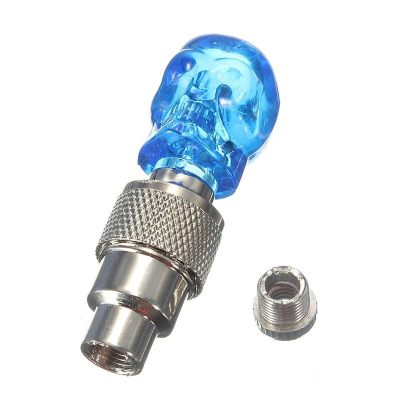 2X-Bouchon-de-Valve-Roue-Pneu-LED-Lampe-Lumineuse-Moto-Bicyclette-Velo-Voitur-14 miniature 13