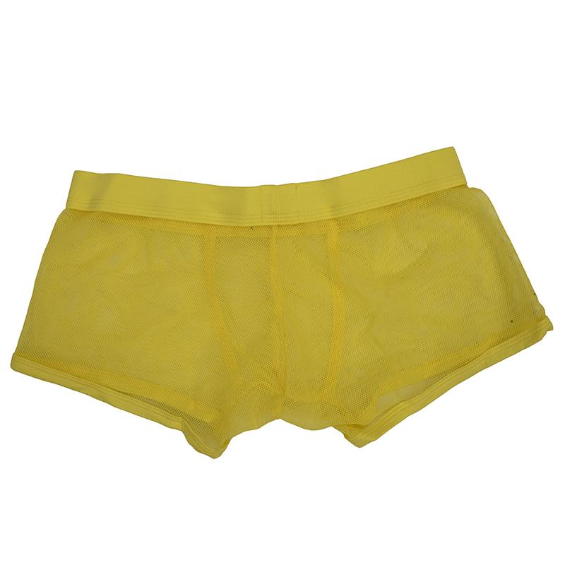 COCKCON-Masculine-Sexy-Mesh-Slim-Breathable-Boxers-Underpants-Z9Z8 thumbnail 3