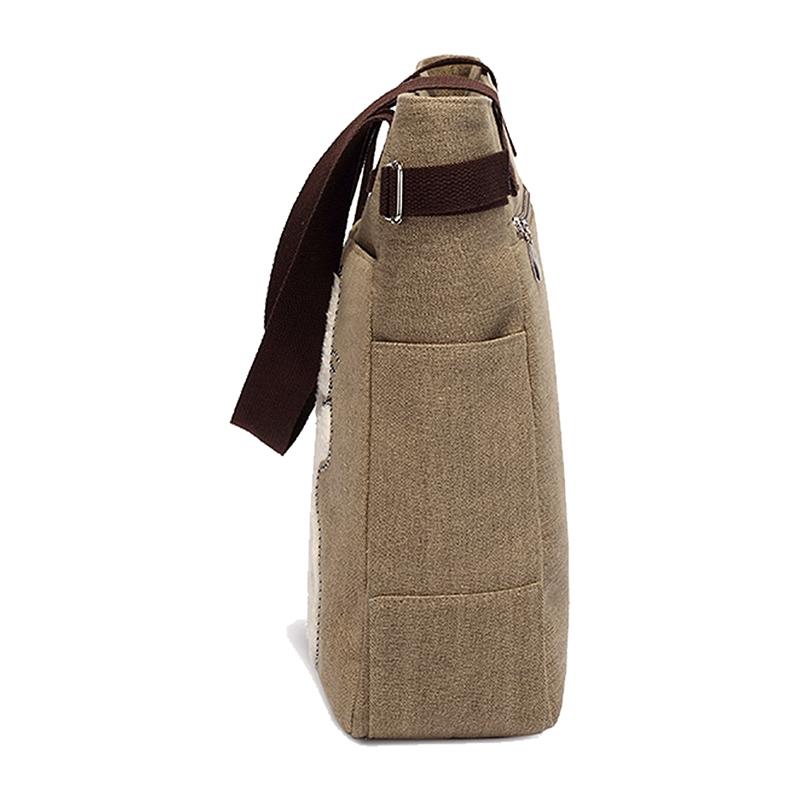 Kurierhandtasche-Tasche-mit-niedlichen-Katze-Frauen-kleinen-Einkaufs-Umhaen-Z9W7 Indexbild 4