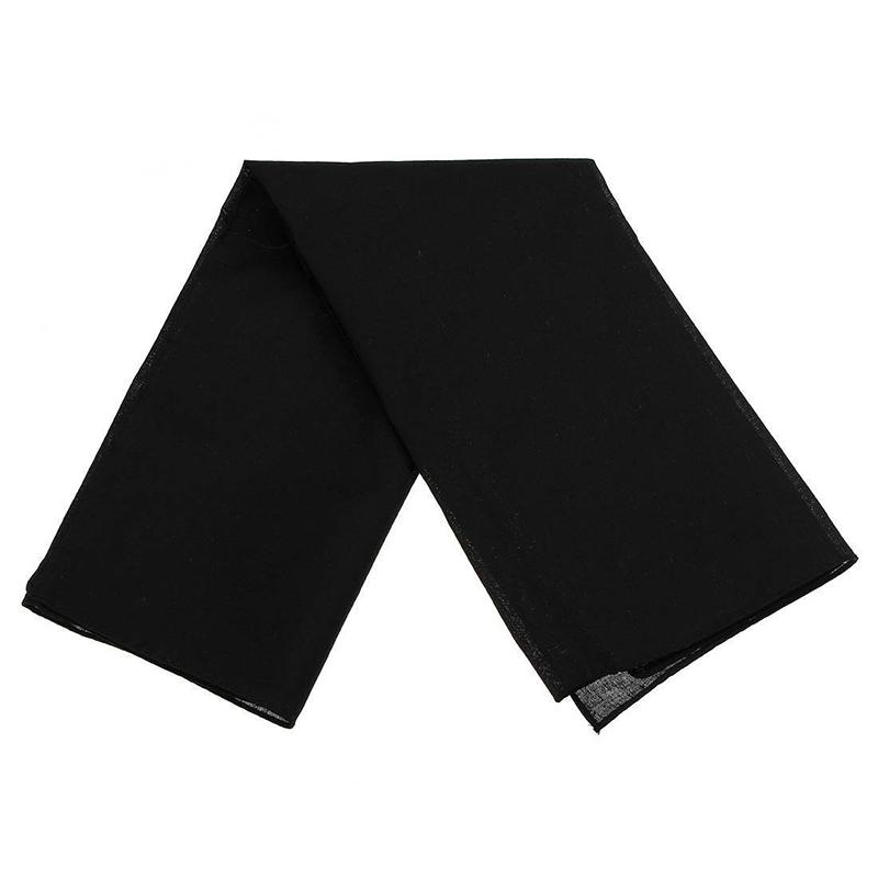 Bandana-echarpe-Foulard-d-039-ete-en-coton-unisexe-simple-coton-pour-les-femmes-N7I1 miniature 4