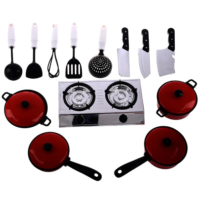 Juego de 13 utensilios de cocina ollas y sartenes para for Juego de utensilios de cocina