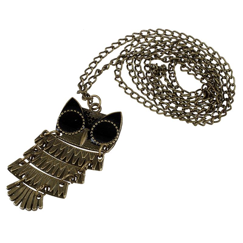 Collar-de-Buho-de-bronce-antiguo-de-la-vendimia-negro-de-ojo-pendiente-colgant